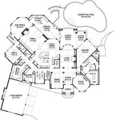 Leatherwood Lodge House Plan Lakefront Floor House Plan Leatherwood Lodge House Plan Obie Award Winne Luxury House Plans Mansion Floor Plan How To Plan