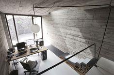 Concrete interior wall