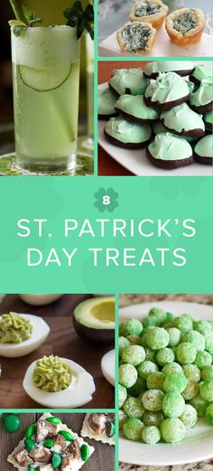 Sour Patch grapes, guacamole deviled eggs and other festive green snacks for your St. Holiday Treats, Holiday Recipes, Sour Patch Grapes, St Patrick's Day Appetizers, Guacamole Deviled Eggs, Easy To Make Snacks, St Patrick Day Treats, Natural Food Coloring, St Patricks Day Food