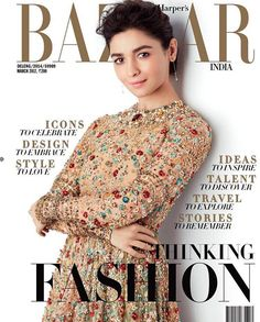 Alia Bhatt in Sabyasachi Spring Couture 2017 Harper's Bazaar India celebrates 8 years shot by Suresh Natrajan Bollywood Celebrities, Bollywood Actress, Bollywood News, Fashion Magazine Cover, Magazine Covers, Spring Couture, Sabyasachi, Alia Bhatt, Harpers Bazaar