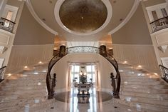Poll: Which Grand Double Marble Staircase Do You Prefer? | Homes of the Rich