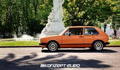 Retro Rides - mkI Golf R32