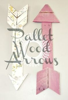 Pi Beta Phi arrows out of wood pallets #piphi #pibetaphi