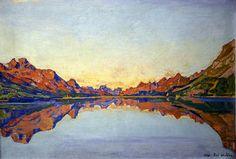 Ferdinand Hodler - Silvaplanersee, 1907