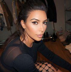 Mario Dedivanovic: #BTS today w/ @kimkardashian ❤️ Hair @cesar4styles #MakeupByMario