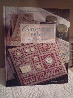 Cartonnage brod� : De Sophie Delaborde et Sylvie Castellano.