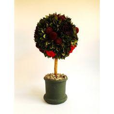 kvetinový stromček z červenej kolekcie 17 x 31,5 cm