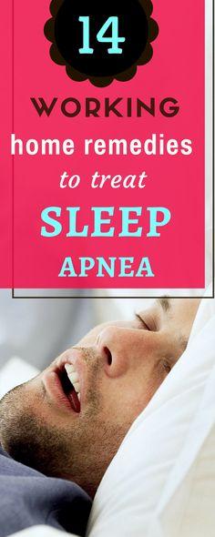 These 14 Remedies From Your Kitchen Will Cure Sleep Apnea.   #sleepapnea #sleepdisorders #insomnia