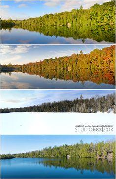 Crawford Lake Conservation Park in Halton Regional Municipality, ON