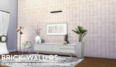 Simsational designs: Brick Wall Dump 01 • Sims 4 Downloads  Check more at http://sims4downloads.net/simsational-designs-brick-wall-dump-01/