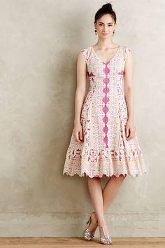 Laced Amethyst Dress - anthropologie.eu by Moulinette Soeurs