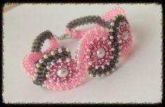 Raw 3D beads, čtyřkorálek
