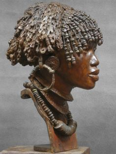 African Tribes, African Art, Bronze Sculpture, Sculpture Art, Art Afro, Statues, African Sculptures, Art Africain, Egyptian Art
