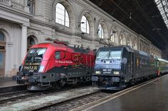 Trains and locomotive database and news portal about modern electric locomotives, made in Europe. Japan Train, Old Steam Train, Electric Train, Electric Locomotive, Commercial Vehicle, Train Travel, Taurus, Around The Worlds, Europe
