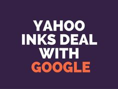Part of Yahoo Search to be powered by Google #digitalmarketing
