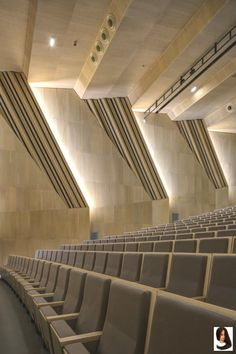 Music and Dance Centre, Soissons, 2015 - Henri Gaudin architecte Concert Hall Architecture, Auditorium Architecture, Classroom Architecture, Theater Architecture, Architecture Design, Acoustic Architecture, Cultural Architecture, Hall Interior Design, Home Theater Design