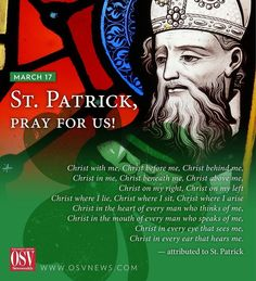 """13 Likes, 1 Comments - Our Sunday Visitor (@oursundayvisitor) on Instagram: """"Happy feast of St. Patrick! #stpatricksday"""""""