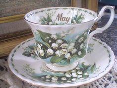 May Tea cup by Royal Albert