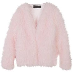 Designer Clothes, Shoes & Bags for Women Pink Fur Jacket, Pink Faux Fur Coat, Stylenanda, Polyvore Fashion, Fashion Outfits, Outerwear Jackets, Fur Jackets, Clothes, Coats