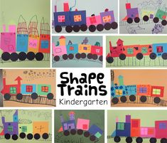 3 Fun and Easy Kindergarten Art Lessons 3 Fun and Easy Kindergarten Art Lessons 3 Fun and Easy Kindergarten Art Lessons – Art is Basic Kindergarten Art Lessons, Kindergarten Crafts, Art Lessons Elementary, Teaching Elementary Art, Math Crafts, Kindergarden Art, Grade 1 Art, Train Crafts, Easy Art Lessons