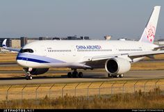 Airbus A350-941, China Airlines, B-18901, cn 049, 306 passengers, first flight 14.9.2016, China Airlines delivered 30.9.2016. Active. Foto: Toulouse, France, 30.9.2016.