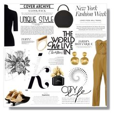 """What to Wear to NYFW"" by nina-lala on Polyvore featuring moda, BUwood, Marissa Webb, Zeynep Arçay, The Row, Sydney Evan, Marco Bicego, Marc Jacobs, Boudicca i KAROLINA"