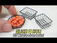 (428) Making Miniature Iron Basket (feat.soldering) - YouTube
