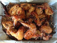 Sugar-free Honey and Soy Chicken Wings - I Quit Sugar