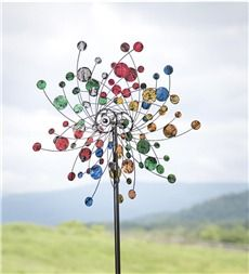 Confetti Kinetic Wind Spinner  plow and hearth