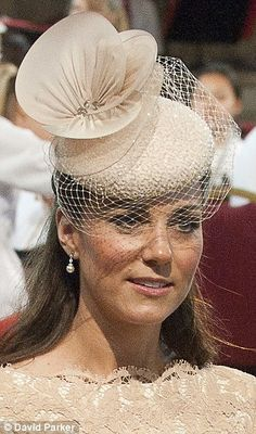 Loved this hat even before #duchessofcambridge wore it. The Duchess of Cambridge in Jane Taylor #hats #millinery