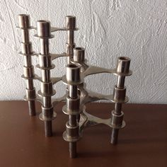 Mid Century Nagel Style Kelco Candle Holders by ModernfullLife
