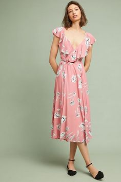 cb3172b0110d Yumi Kim Darby Wrap Dress | Anthropologie Summer Dress Outfits, Boho Outfits,  Day Dresses