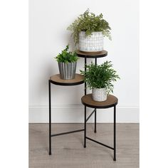 DIY Zuhause Logan Square Multi-Tiered Plant Stand Reasons For Purchasing Air Purifiers Article Body: Indoor Plants, Decor, Wood, Table, Metal Plant Stand, Furniture, Plant Stand Indoor, Plant Stand Table, Home Decor