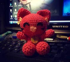 #meow #kitty #kawaii #amigurumi #crochet