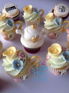 High Tea Inspired Cupcakes - Cake by Sophia Mya Cupcakes (Nanvah Nina Michael)