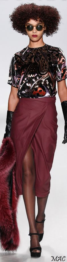 Fall 2015 Ready-to-Wear Georgine Collection  |  couture ... runway