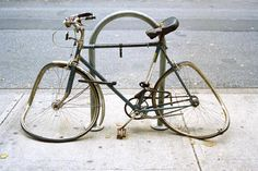 Abandoned bikes around New York take up what little bike parking we have. Help fix it.