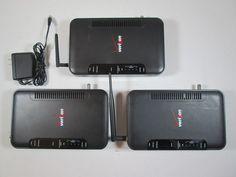 -3- Westell 9100EM UltraLine Series 3 Verizon FiOS Wireless G Modem/Router Rev B #Westell
