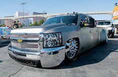 custom slammed chevy 3500hd trucks - Google Search