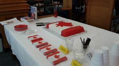 Bracebridge Public Library celebrated Canada's 150th birthday with cake and songs and games.
