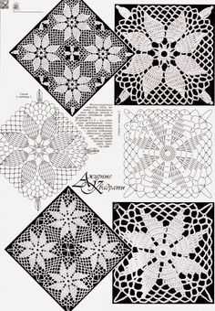 World crochet: Motifs