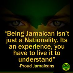 Absolutely true...it's just awesome to be Jamaican, in spite of our many problems. #Jamaica