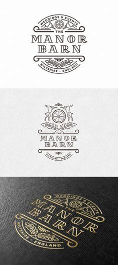 The Manor Barn - Wiltshire, England | Logo... - Logo Design Club