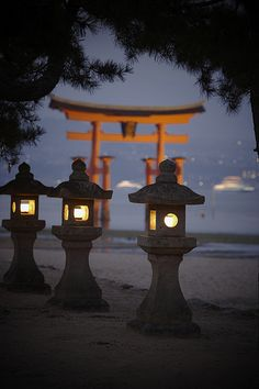 Itsukusima Shrine #japan #hiroshima  I learned all about this beautiful shrine in my Japanese class. ^_^