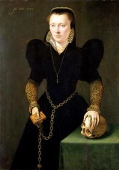 Portrait of Katheryn of Berain by Adriaen van Cronenburgh in the National Museum Cardiff