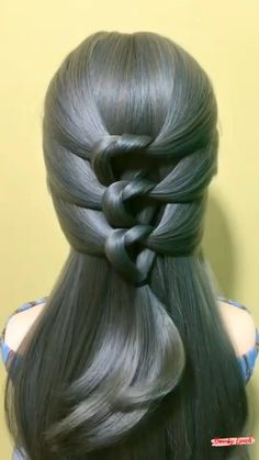 Hairstyles For Medium Length Hair Easy, Hairdo For Long Hair, Viral Colorwash, Front Hair Styles, Hair Videos, Hair Hacks, Girl Hairstyles, Hair Makeup, Hair Cuts