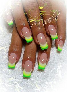 Never - - Nagelkunst Design - Nail Art Ideas Toe Nail Designs, Nail Polish Designs, Acrylic Nail Designs, Nails Design, Pedicure Designs, Design Design, Pedicure Ideas, Neon Nails, Cute Acrylic Nails