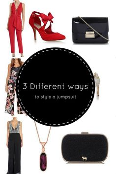 3 Different ways to style a jumpsuit