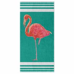 Flamingo Summer Collection Beach Towel – Purposely Designed