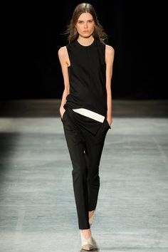 Narciso Rodriguez Spring 2013  Now that's the way to look cool